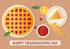 Gratis Vector Thanksgiving Pie