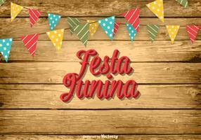 Gratis Festa Junina Vector Illustration