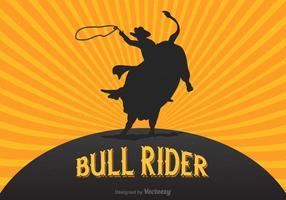 Free Retro Rodeo Vektor Poster