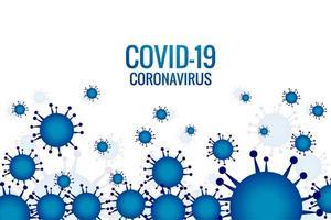 blaue Virusinfektion oder Bakteriengrippezellen vektor