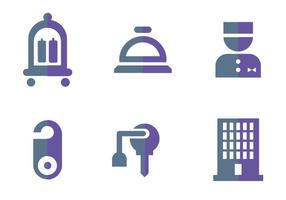 Concierge vektor logotyper