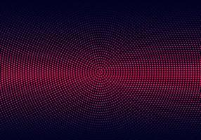 moderna röda cirkulära halvtonmönster vektor