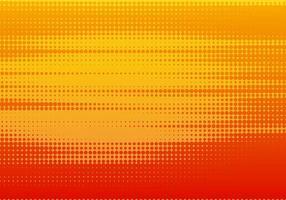 rotes und orange gepunktetes Musterdesign