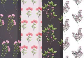 Vector Blumenmuster
