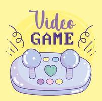 videospel joystick knappar underhållning gadgetenhet elektronisk vektor