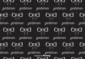 Gentleman Pattern Vektor