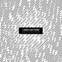 schwarz, grau und weiß abgewinkelt gestreifte Linien Muster vektor
