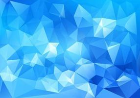 abstraktes blaues geometrisches polygonales Design vektor