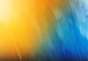abstrakte blaue gelbe bunte weiche Aquarellbeschaffenheit vektor