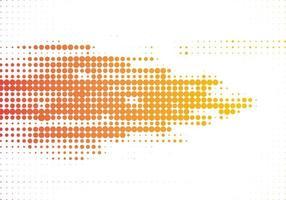 moderner bunter gelber orange Halbtonweißhintergrund