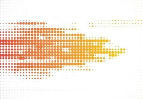 modern färgglad gul orange halvton vit bakgrund vektor