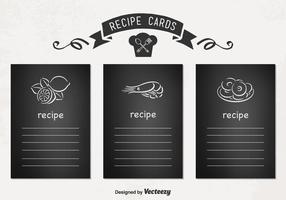 Vektor Rezeptkarten