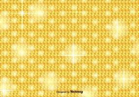 Gyllene Sequin Vector Bakgrund