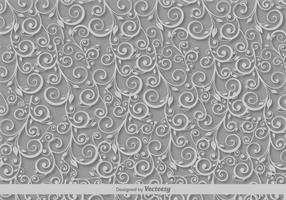Scrollwork-Vektor-Muster vektor