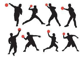 Aktiv Dodgeball Silhouette