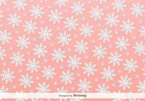Schneeflocken Rosa Vektor Hintergrund