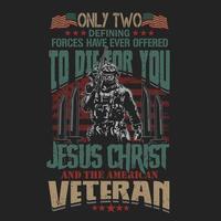 stolz darauf, ein Veteran Soldat Design zu sein