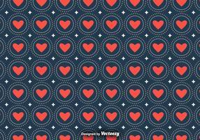 Vektor kärlek sömlösa mönster