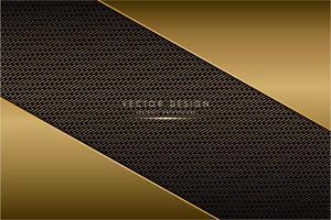 Metallisch abgewinkelte Platten mit Kohlefasertextur