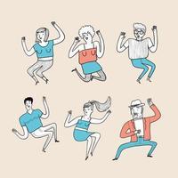 dansens aktivitet vektor