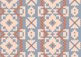 Traditionellt Rustikt Mönster vektor