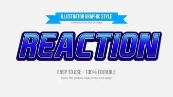 blau itallic Chrom Großbuchstaben Sport Typografie vektor