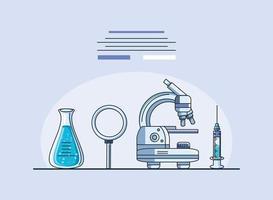 laboratorieobjekt, coronavirusforskning