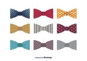 Bogen Krawatten Vektor
