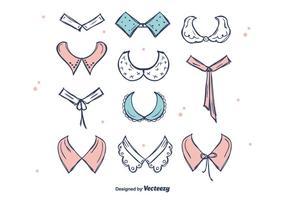 Schöne Halsbänder Vektor