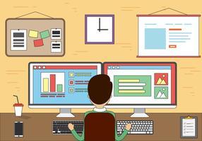Gratis Office Vector