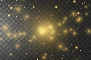 leuchtende goldene Sterne