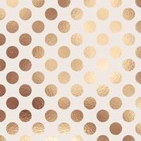 Goldfolie Tupfen Textur Hintergrund vektor