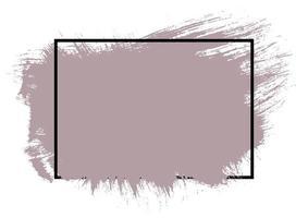 Grunge Splat mit schwarzem Rand vektor