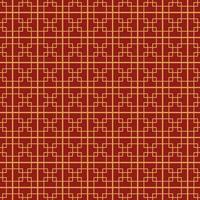 elegantes chinesisches Muster vektor