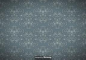 Tappning Ornamental Seamless Pattern