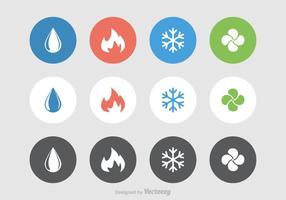 Kostenlose Hvac Vektor Symbole