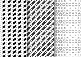 Freier geometrischer Mustervektor vektor