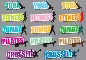 Fitness titlar
