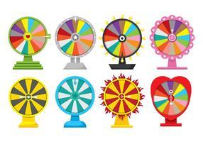 Spinning wheel icon vectors