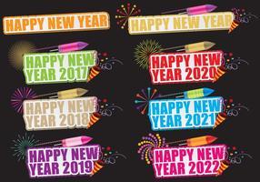 Glückliches neues Jahr Titel