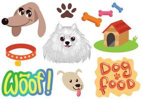 Freie Hundevektoren vektor