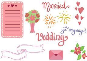 Kostenlose Hochzeitsvektoren