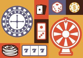 Glücksspiel Icons Set