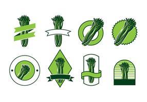 Sellerie-Logo-Vektor