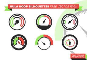 Tachometer frei Vektor Pack