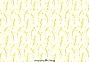 Mimosa Nahtlose Muster Hintergrund vektor