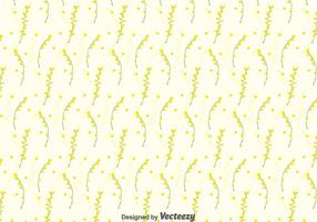 Mimosa sömlös mönster bakgrund vektor