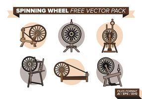 Spinnrad frei Vektor Pack