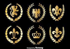 Königliches Königreich Symbol Vektor
