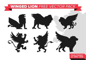 Winged lion free vector pack